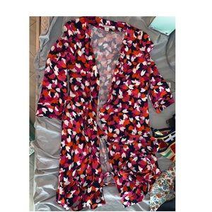 wrap dress / cardigan new